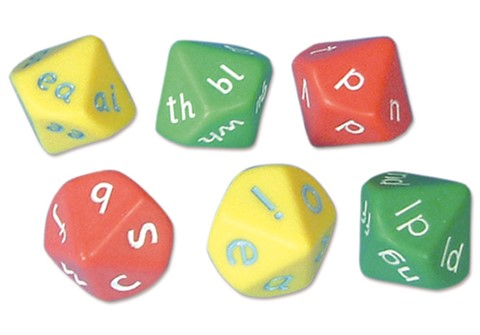 Letter Dice