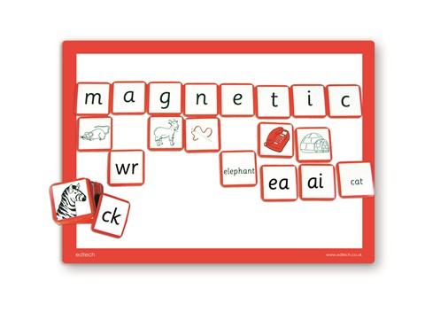 Magnetic Alphabet Tiles