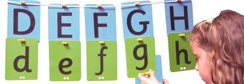 Alphabet Washing Line Upper & Lower Case