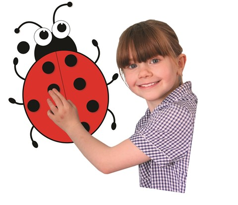 Magnetic Giant Ladybird and 20 Spots