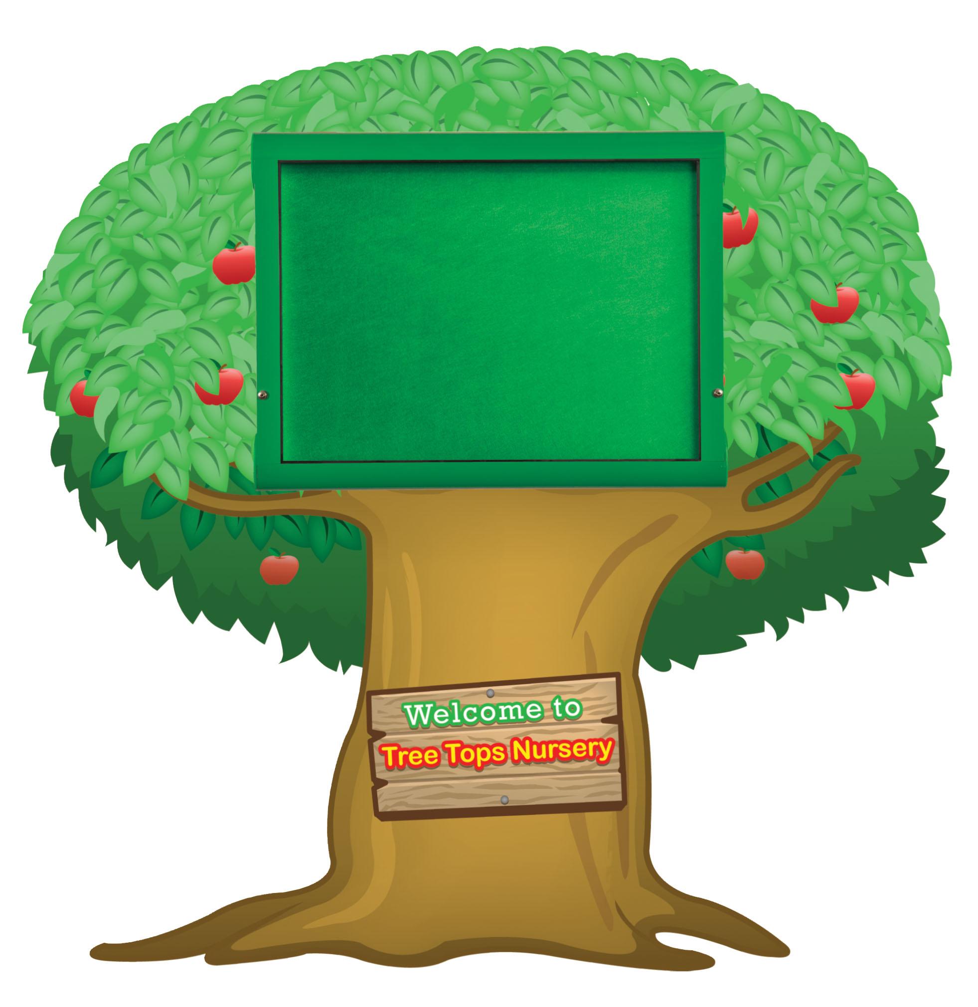 Weathershield Nursery/Primary Welcome Sign Tree