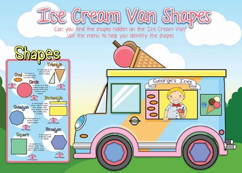 Ice Cream Van Shapes