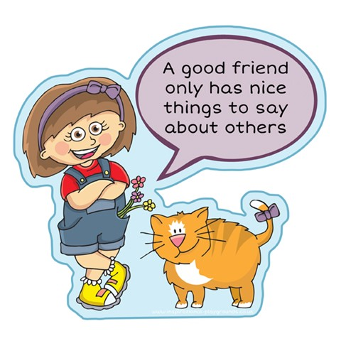 Good Friend - Things to say