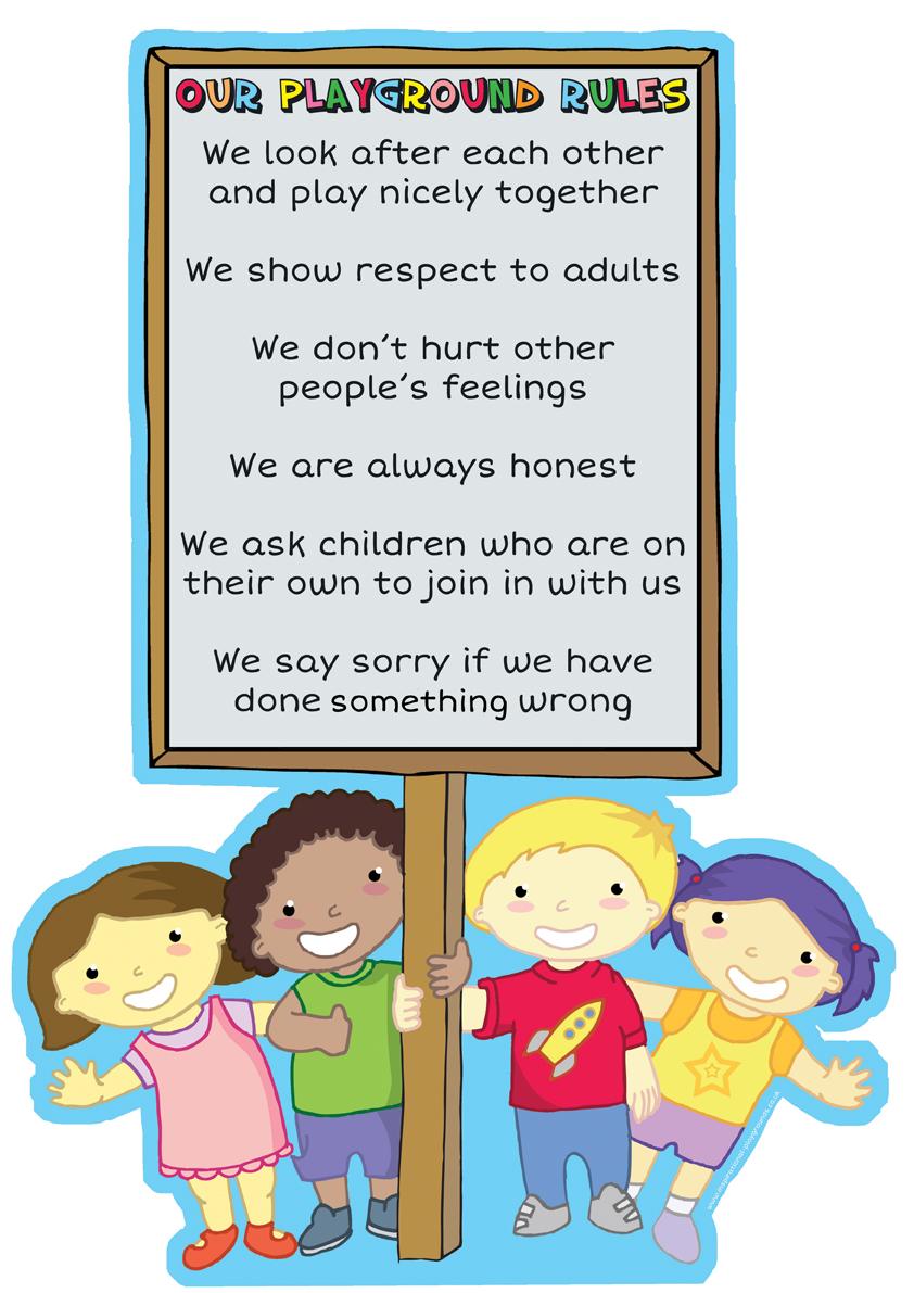 Rules - Children Holding