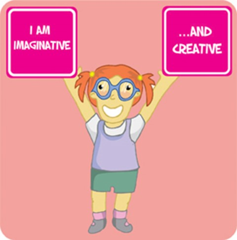 Affirmation - I am imaginative