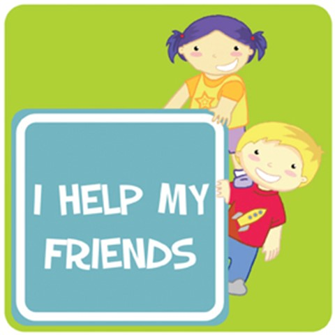 Affirmation - I help friends