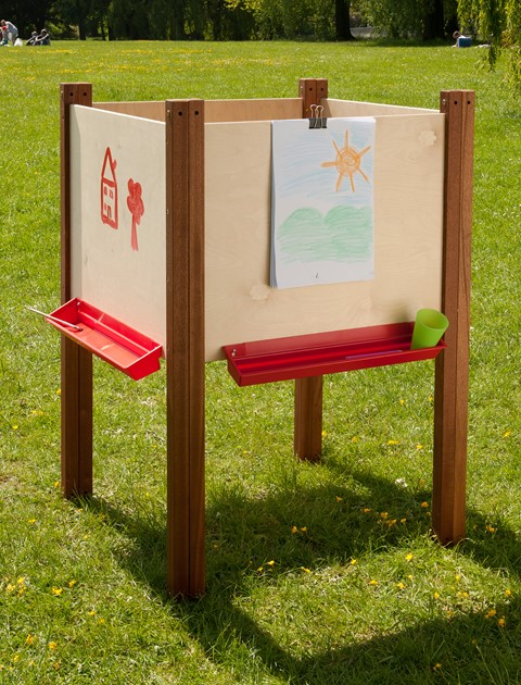 4 Sided Outdoor Easel
