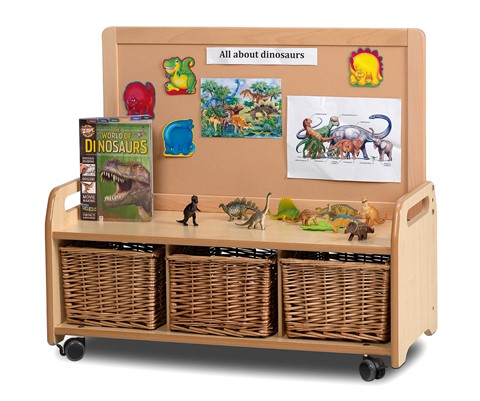 Low Display Mobile Storage Unit