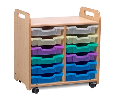 PlayScapes Tray Storage Unit (2 column)