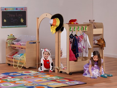 PlayScapes Mini Dressing Up Zone