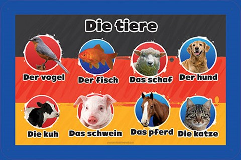 German Language Animals