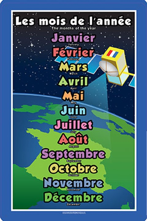 French Months of the Year