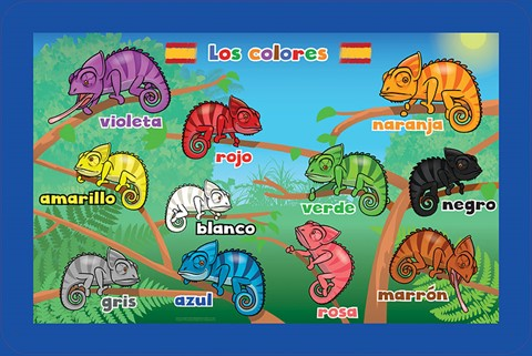 Spanish Language Colours