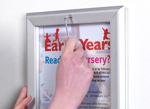 Tamperproof Poster Display Cases