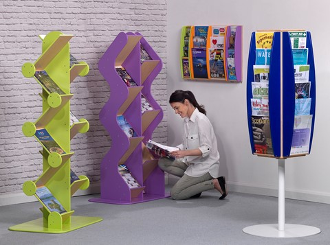 Eco Friendly Wall Mounted Leaflet Dispenser