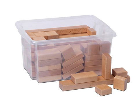 Wooden Blocks Construction Set 1