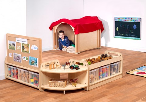 PlayScapes Mini Hide & Seek Zone