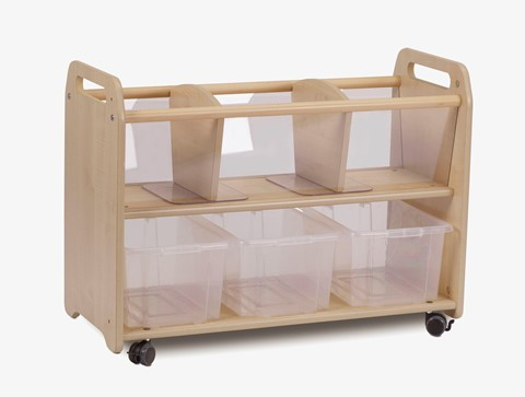 Mobile Clear View Storage Unit