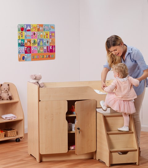 PlayScapes Baby Changing Unit with Steps