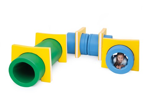 Soft Tunnel Play (Set of 9)