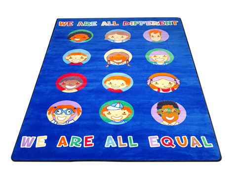 We Are All Equal Rug