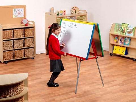 Little Rainbows Twin Junior Writing Board Easel