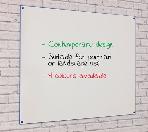 Non-Magnetic Frameless Colourmaster Writing Board