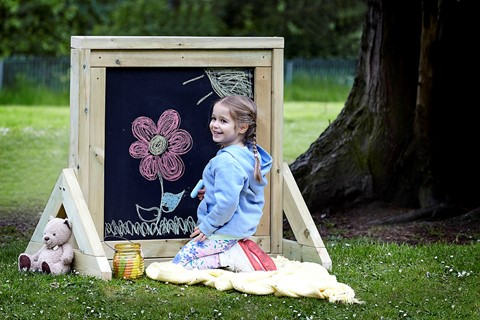 Freestanding Chalkboard Panel