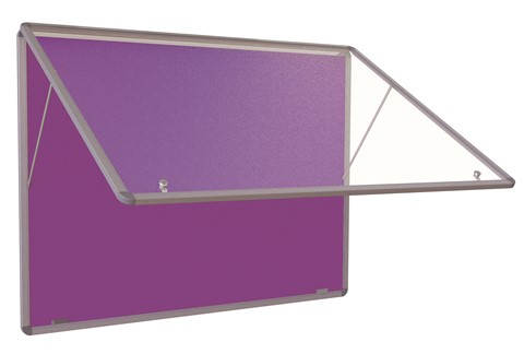 Accents FlameShield Tamperproof Noticeboard Top Hinged