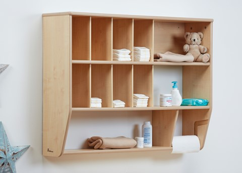 Baby Changing Wall Storage Unit