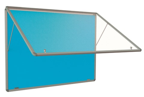 Accents Tamperproof Noticeboard Top Hinged