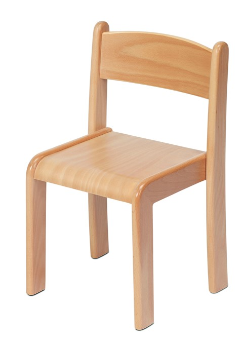 Beech Stacking Chair (Pack of 4)